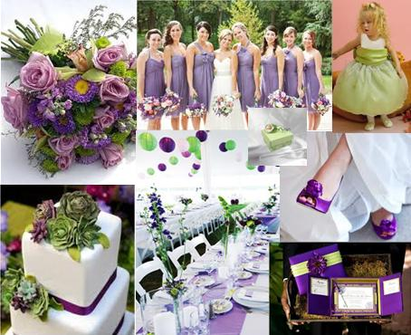 Winter Green Lavender The Perfect Wedding