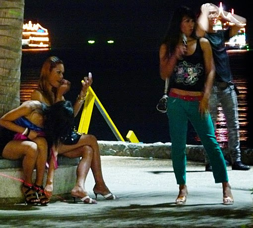 Freelancer Ladyboys in Pattaya