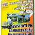 Apostila Concurso UNCISAL Assistente em Administração 2014