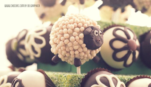 oveja blanca cakepop