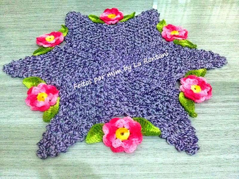 Toalhinha de mesa Floral