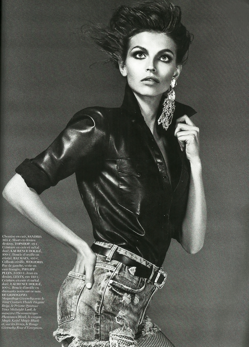 ph/Giampaolo Sgura, Capucine Safyurtlu - Vogue Paris september issue