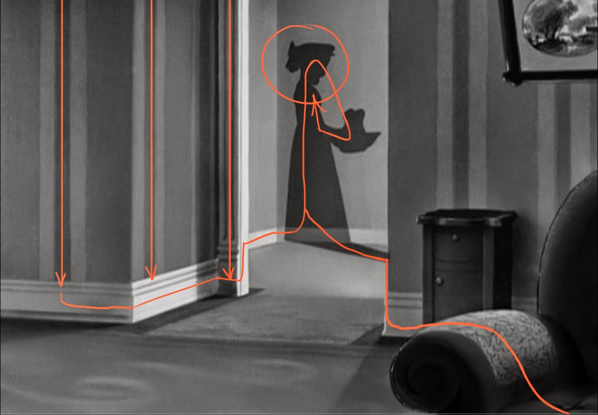 flooby nooby peter pan composition analysis 1 nice use of framing here the door and values the subtle rhythm of the pattern drags us down to the baseboard which then takes us
