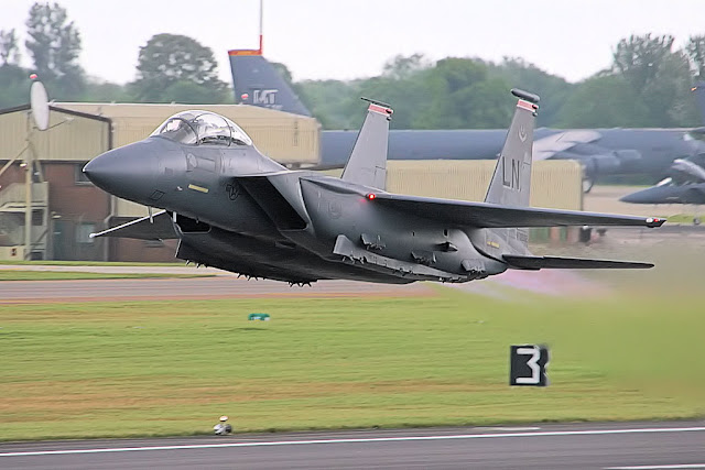 F-15 Eagle Heat Distortion
