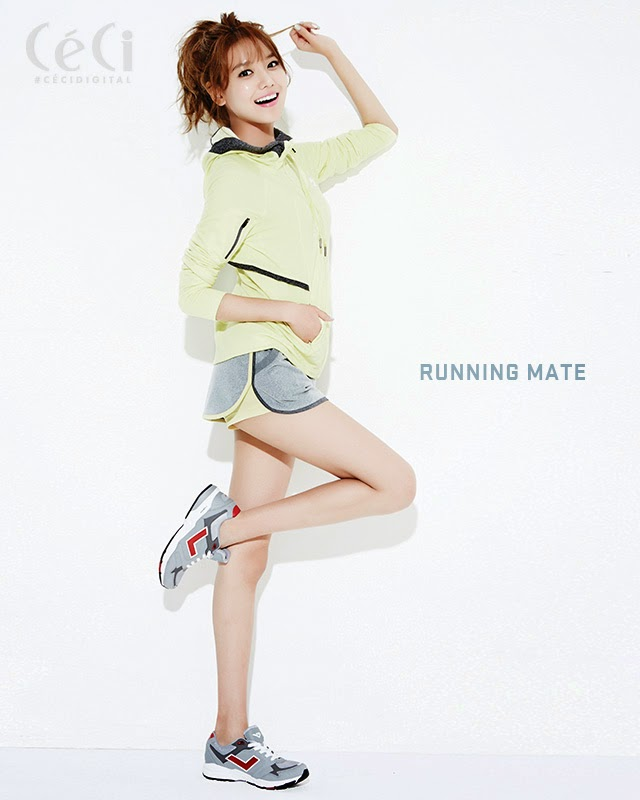 sooyoung flaunts her slim body on ceci magazine daily k