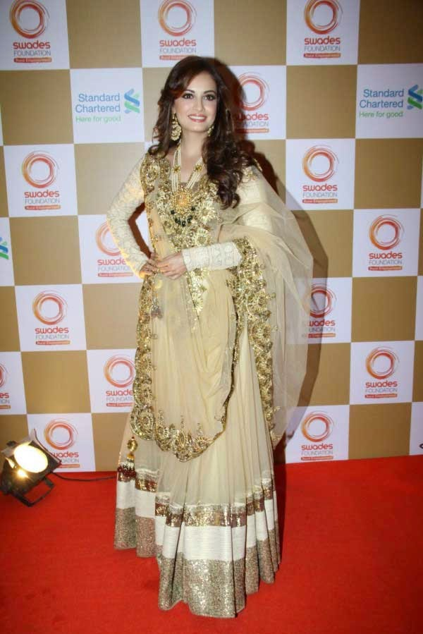 Dia Mirza at Swades Foundation Fundraiser show