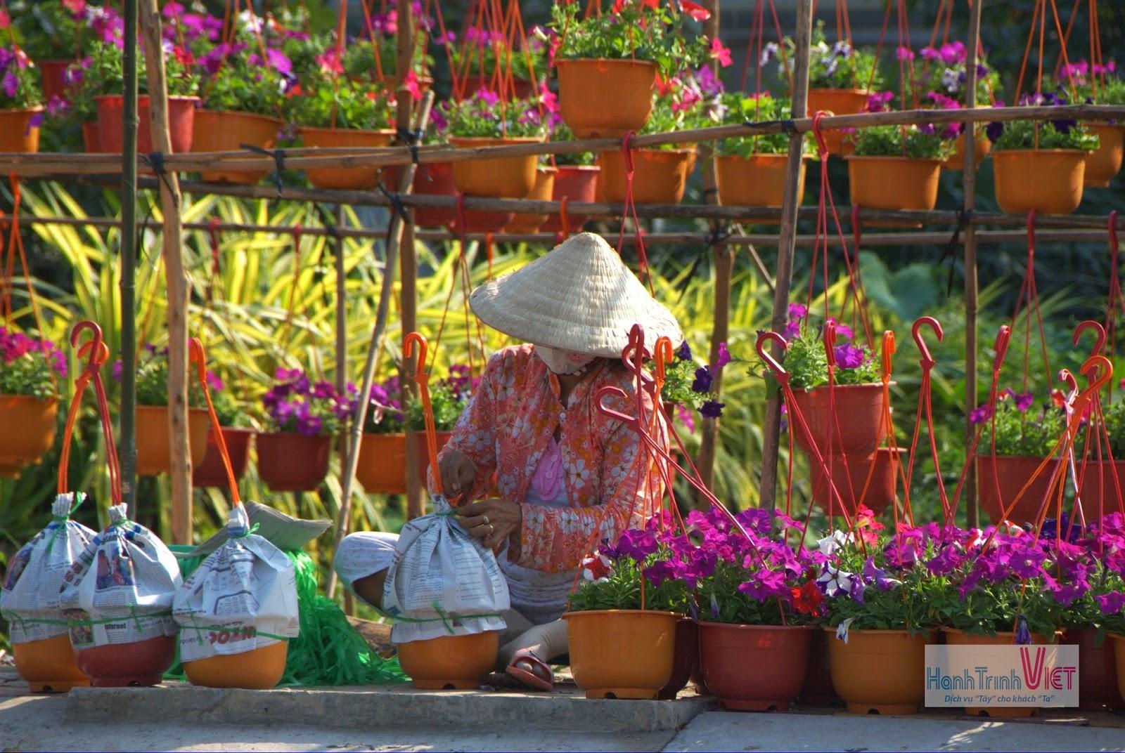 Rộn ràng mùa hoa tết ở Sa Đéc