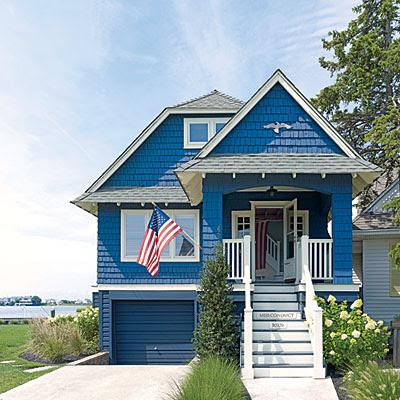 Coastal Living: Patriotic and Nautical