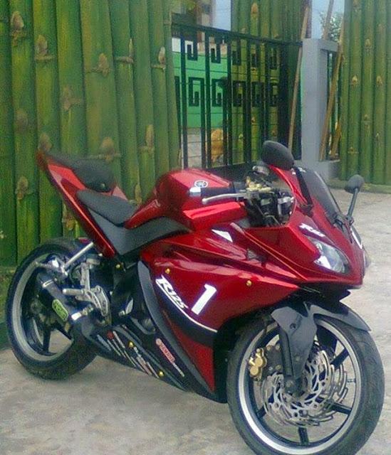 Foto Modif Vixion Sport Elegan Model R125 Biaya Rp 11 Jutaan