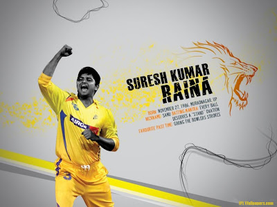 Suresh Raina Chennai Super Kings Wallpaper