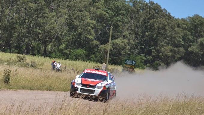 Tambascio avanza a paso firme en el Rally de Lezama