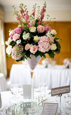 beautiful wedding flower decorations for tables