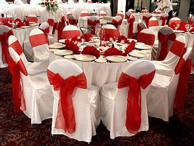 Decoracion de bodas en blanco y rojo parte 2 - Decoracion blanco negro rojo ...