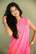 Bhavya Sri Photos in Pink Halfsaree-thumbnail-17