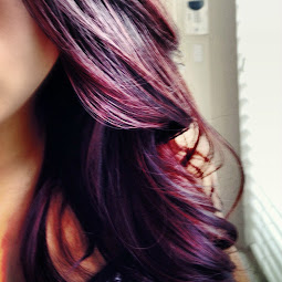 Burgundy Plum Hair