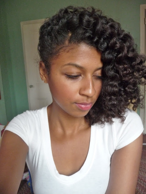 natural hair, twist out, curly hair, styling, around the way curls, tutorial