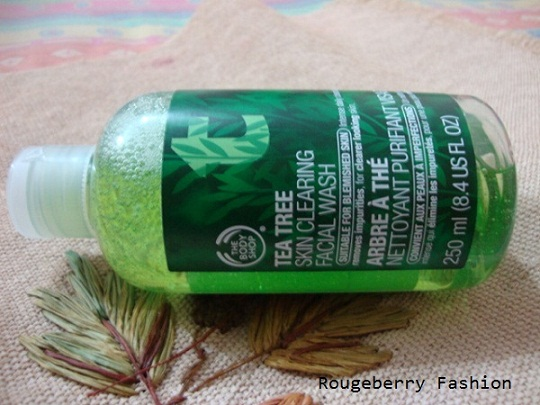 tea tree face wash, best face wash, acne face wash