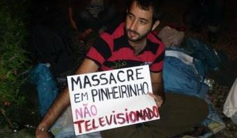 Brasil: Jornalista Pedro Rios faz greve de fome em frente à Rede Globo