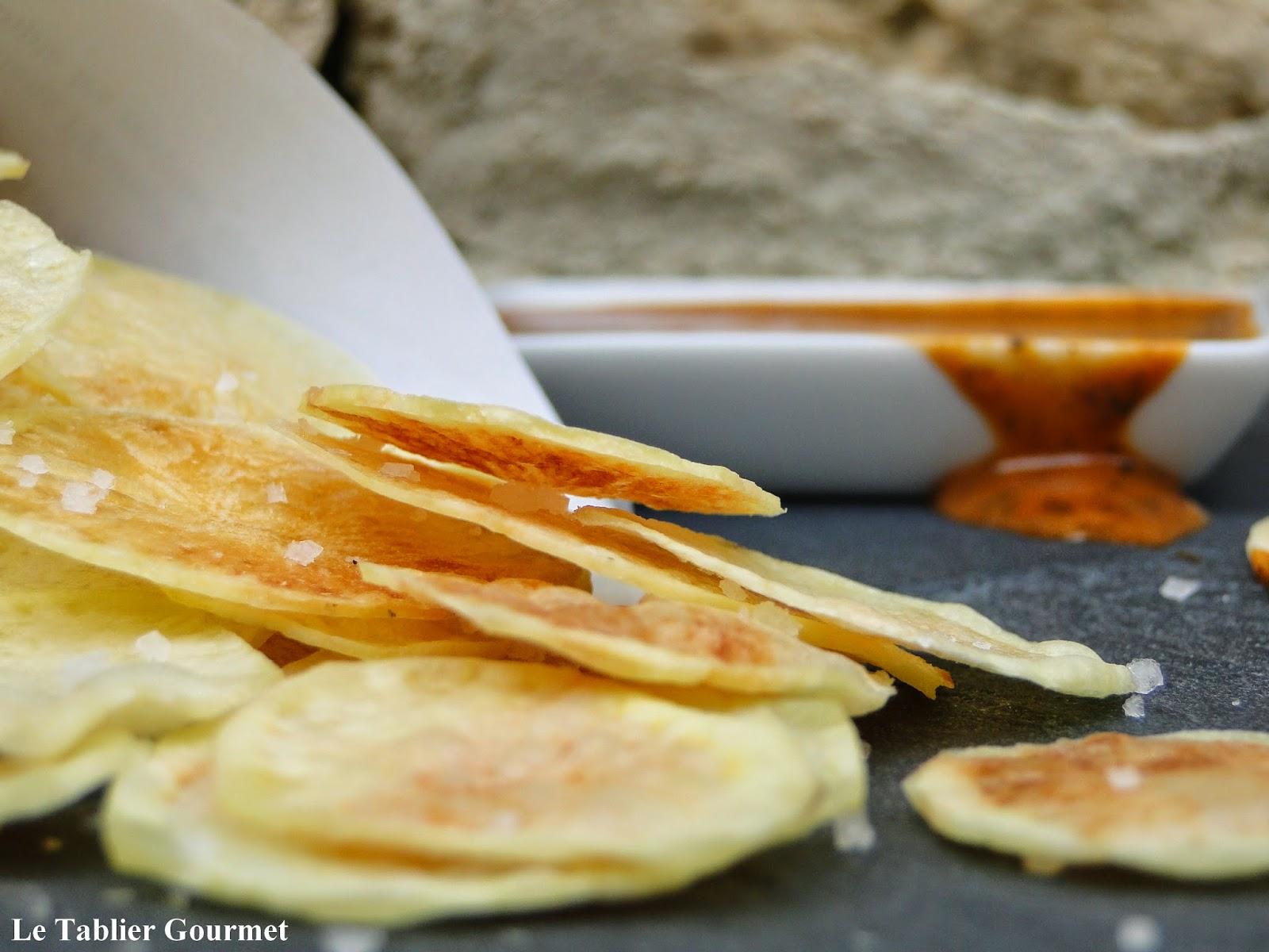 Un ap ritif ou un pique nique rapide facile pas cher et r gime les chips de pommes de terre - Apero facile et rapide ...