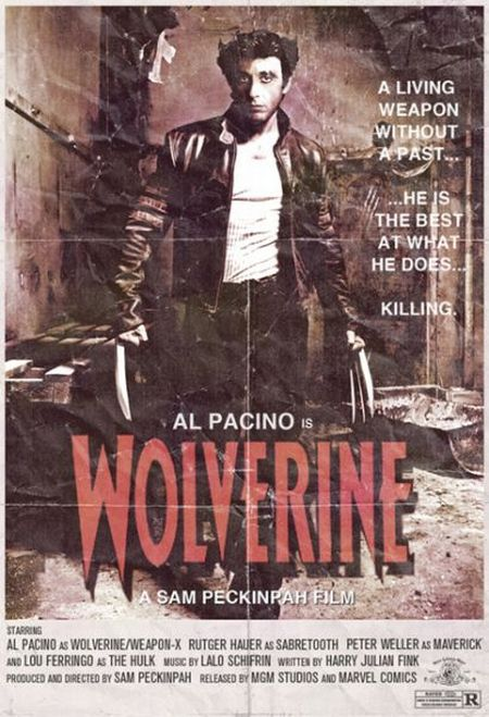 al pacino wolverine