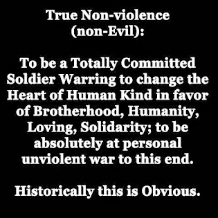 True Non-Violence - Warring to...