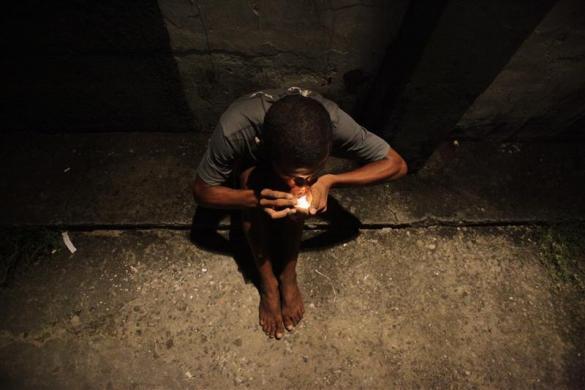 Drogadictos de Brasil