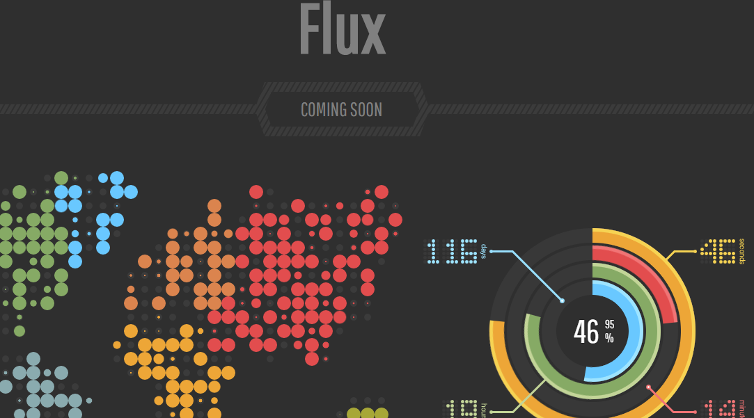 Download Flux Responsive Coming Soon Blogger Template