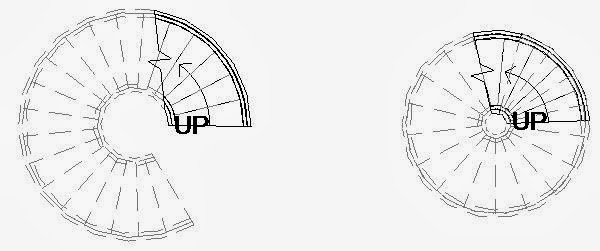 Spiral Staircase House Plans