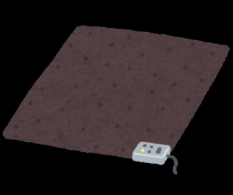 ホットカーペットの電気代の比較とおすすめの安いカーペット