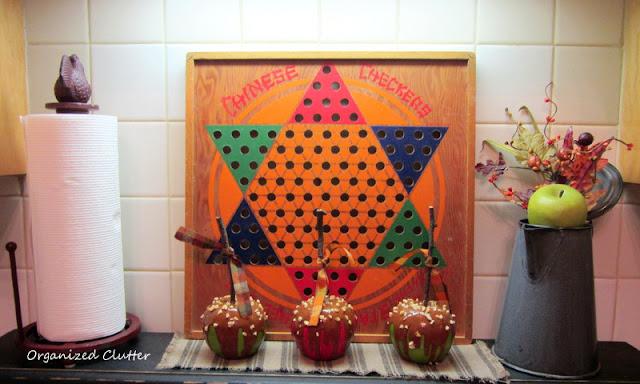 Vintage Fall Kitchen Vignette