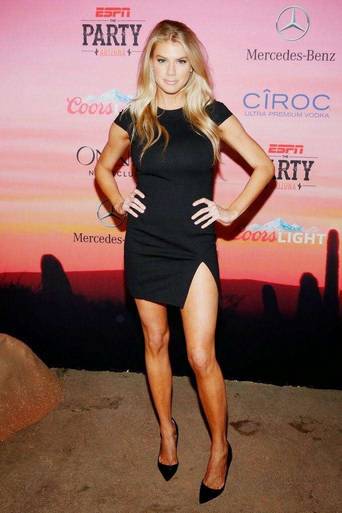 Model: Charlotte McKinney - ESPN the Party in Scottsdale