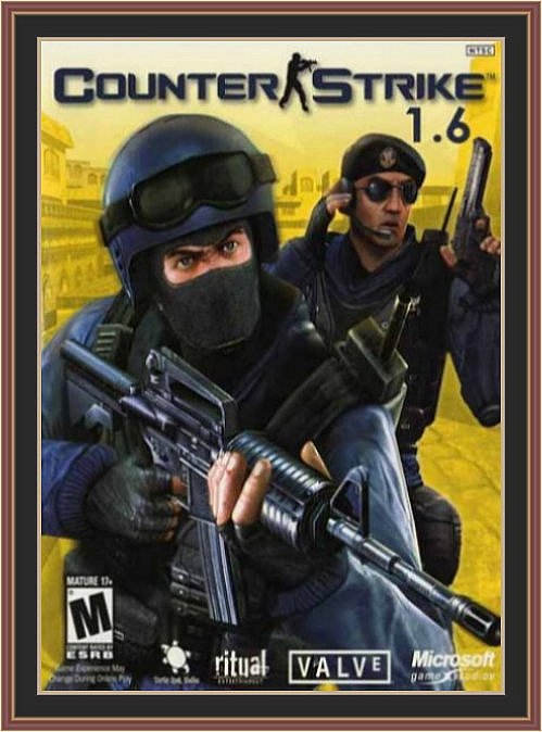 Counter Strike 1.6 (CS 1.6) Pc Game Cover | Counter Strike 1.6 (CS 1.6) Pc Game Poster