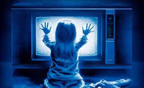 Poltergeist snowy tv