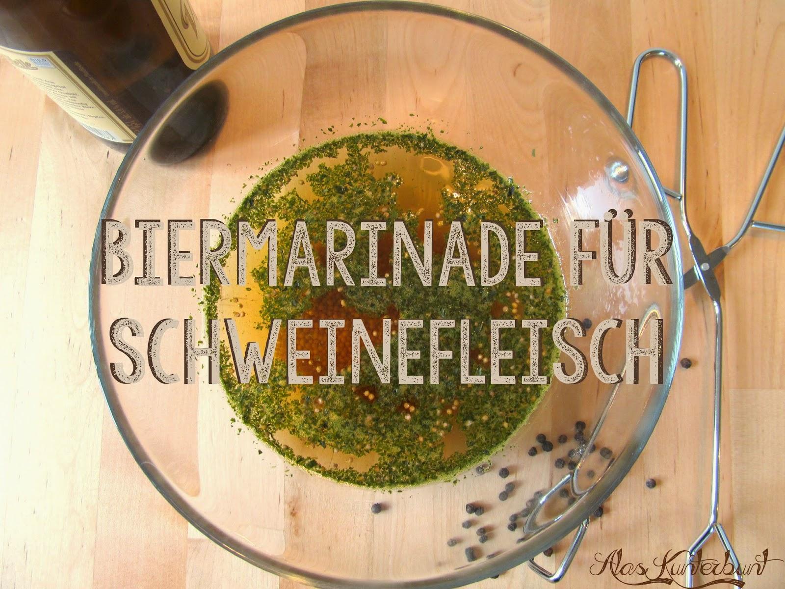 Rezept für Marinade von Schweinefleisch | Ala's Kunterbunt