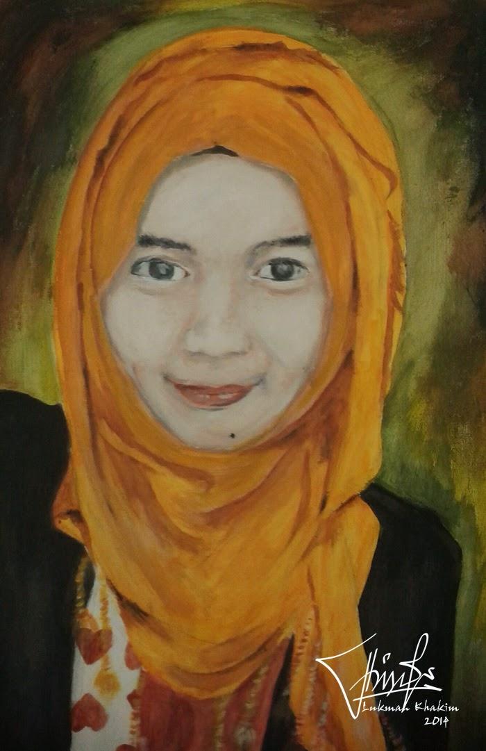 Galery lukisan wajah