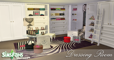 My Sims 4 Blog Ts2 Closet Set By Marco13