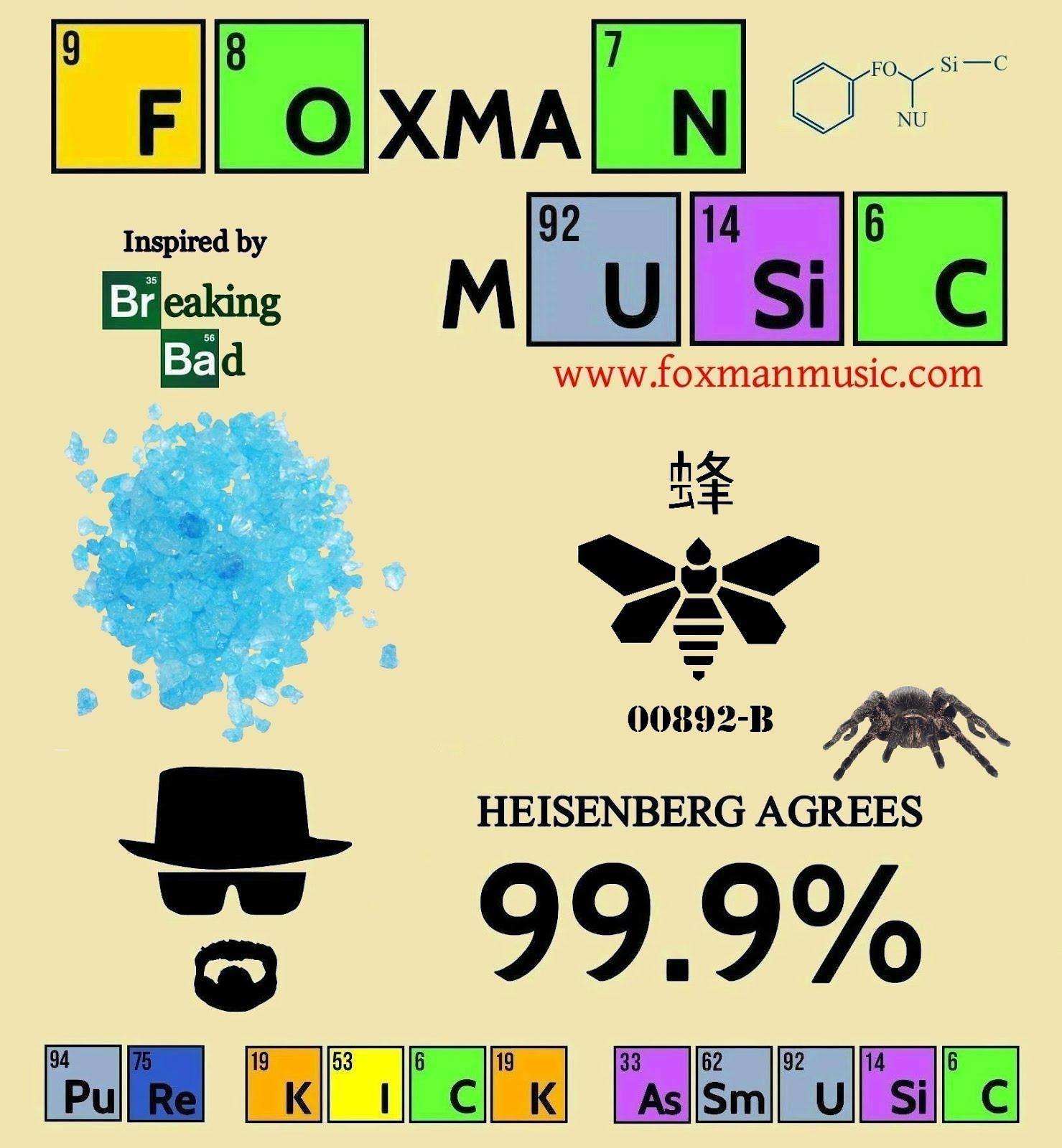Foxman Promo Flyers