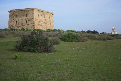 Tower of San José in Isla de Tabarca