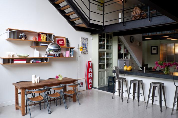 Atelier rue verte le blog un loft dans le 93 bagnolet - Deco loft ...