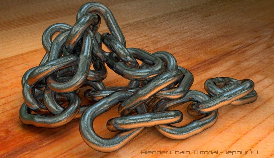 Blender Chain Tutorial By tutor4u - Jephyr '14