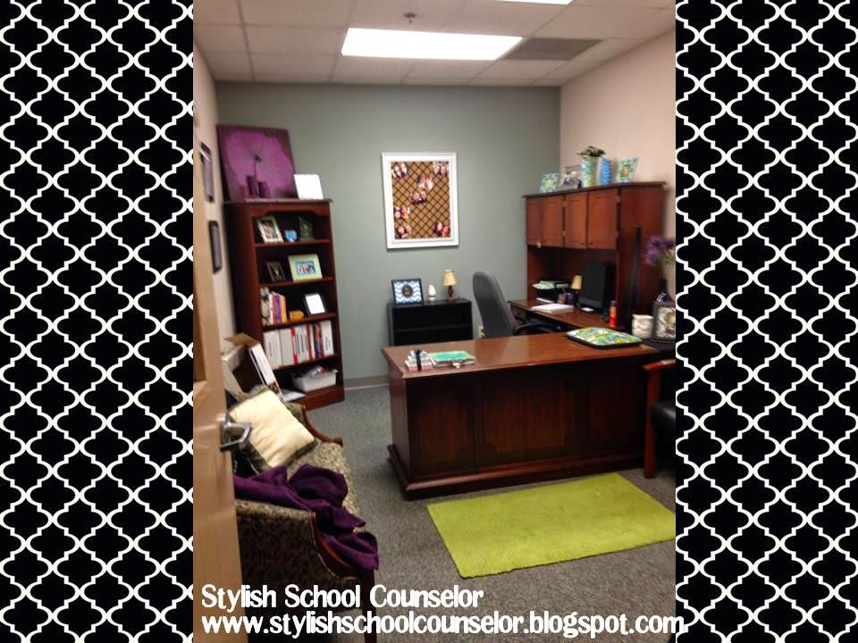 The Stylish School Counselor: A Peek Into My Office
