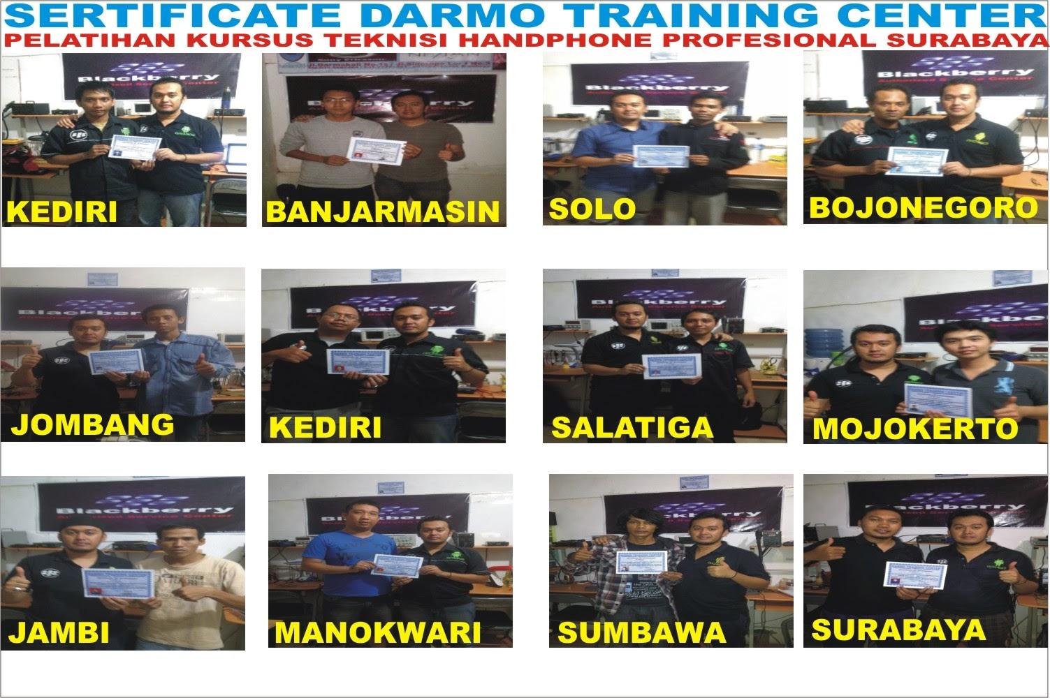 Darmo Training Center Sertifikate Dtc Handphone Surabaya Menjalin Tali Silaturahim