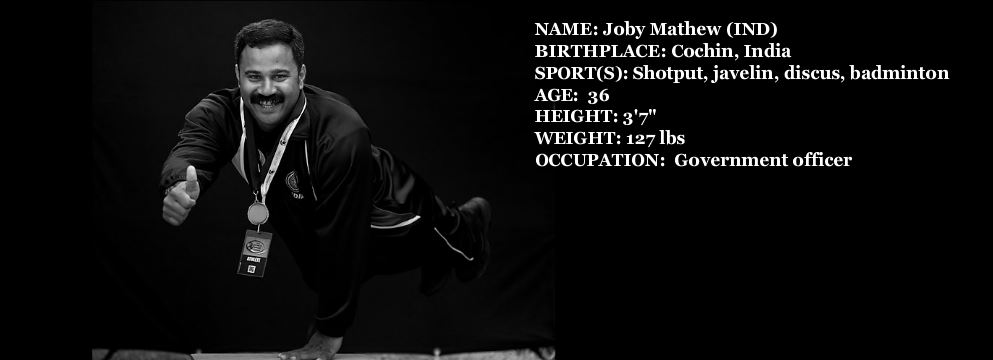 Joby Mathew Portfolio photo for the World Dwarf Games 2013