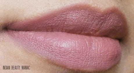 INGLOT Soft Precision Lip Liner in 74 on my lips