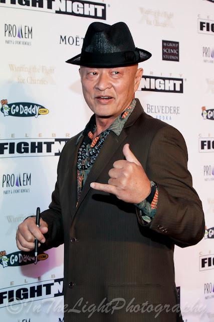 Celebrity Fight Night 2013 Red Carpet Cary-Hiroyuki Tagawa