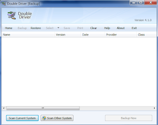 BackUp and Restore PC Drivers Using Double Driver