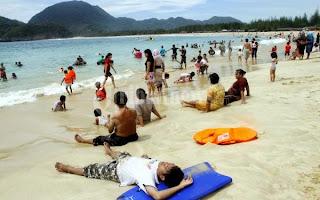 Duh Cantiknya Pantai Pantai di Aceh Besar ini - Pantai Lapuuk
