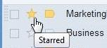 thư gắn dấu sao Gmail