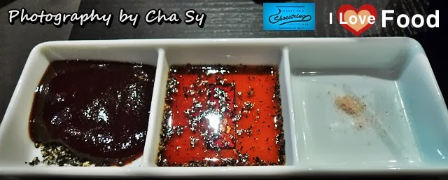 Tonkatsu Sauce or pork cutlet sauce with black sesame seeds, soy-vinegar, condiments, Kimukatsu, Shangri-la, Manila, Philippines