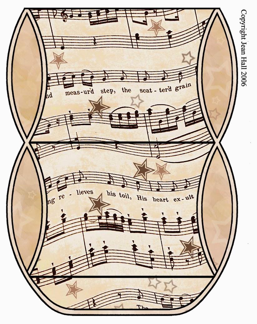 Cajas con Notas Musicales para Imprimir Gratis. | Ideas y material ...